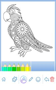 Animal coloring mandala pages - Apps on Google Play