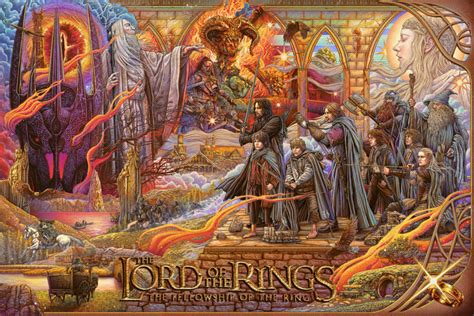 LOTR: THE FELLOWSHIP OF THE RING by Ise Ananphada