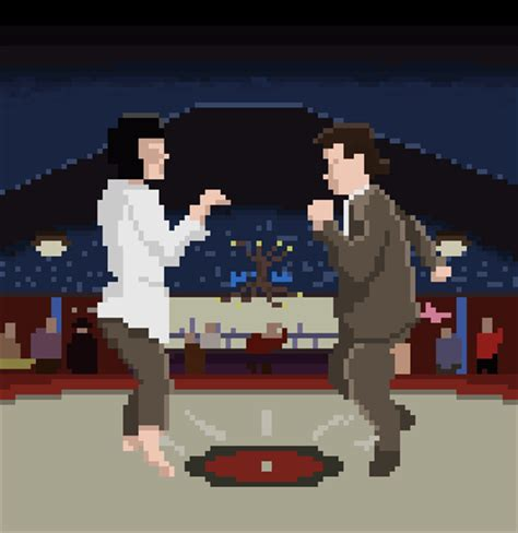 Movie Scenes Recreated as Pixelated GIFs (27 gifs