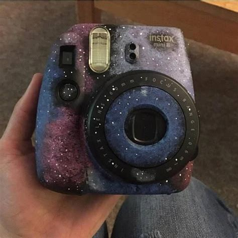 Galaxy Painted InstaX Mini 8 Instant #camera 60mm Lens