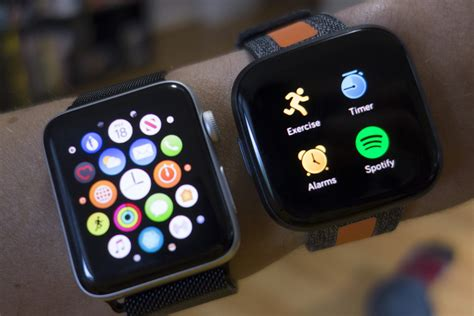 Apple Watch Series 3 vs Fitbit Versa 2: Even a two-year