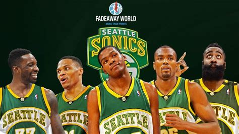 Could This Be The Best Roster If Seattle SuperSonics Makes