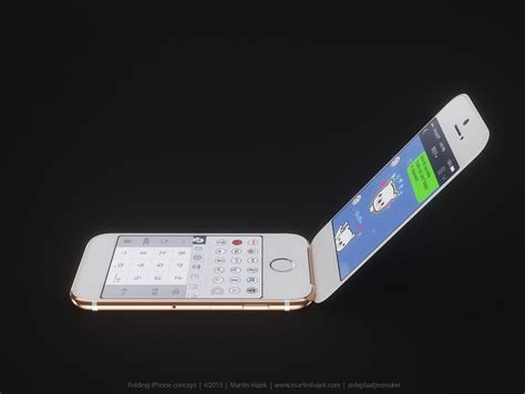 This Concept Imagines an iPhone Flip-Phone for the