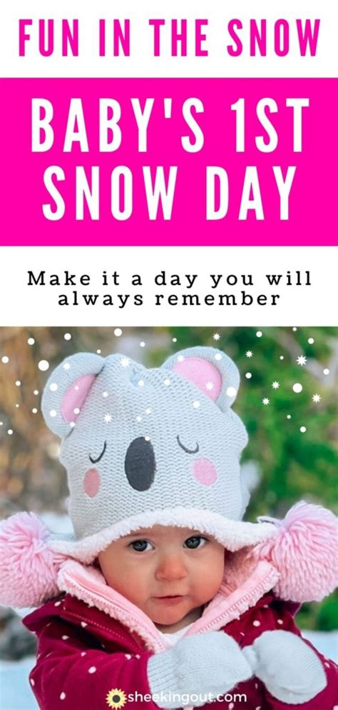 How to Have a Perfect First Snow Day with Baby - Sheeking Out