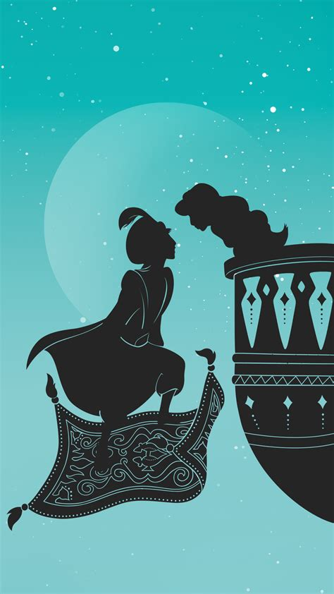 These Papercut-Inspired Disney Princess Phone Wallpapers