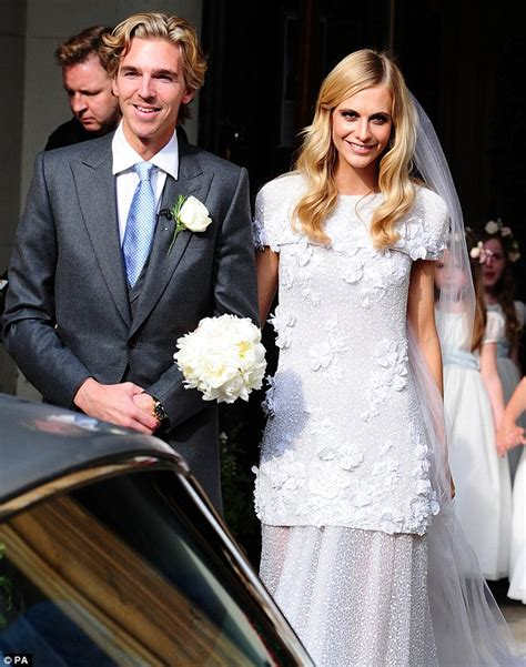 Poppy Delevingne and husband James Cook step out hand-in
