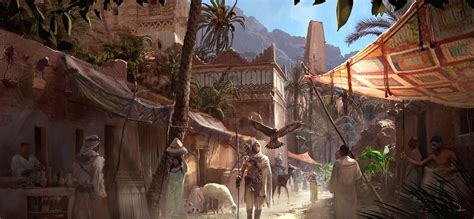 Assassin's Creed Origins 4K Screenshots and Concept Art Leaked
