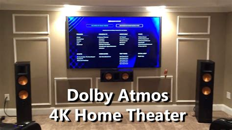 Home Theater Dolby Atmos Speaker Setup, Configuration and