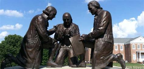 Valley Forge, PA - Founding Fathers in Prayer