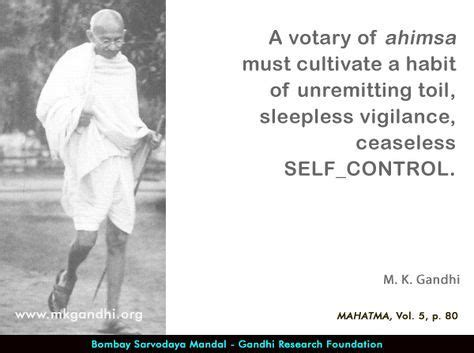 Mahatma Gandhi Quotes on Self-control (With images