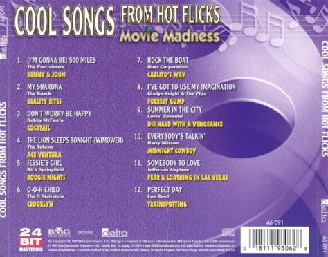 Cool Songs From Hot Flicks: Movie Madness - Original