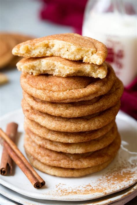 Soft and Chewy Snickerdoodles - HouseKeeperMag