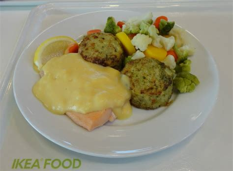 Salmon Fillet with Hollandaise Sauce from Ikea