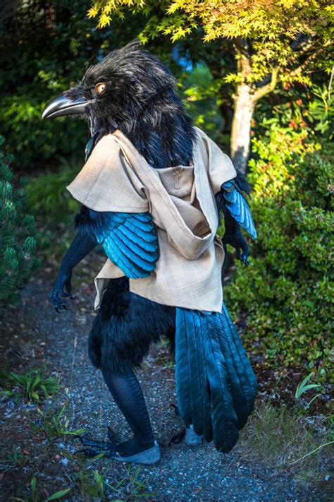 Caw, Caw!: Man Makes Giant Raven Costume Based On His D&D