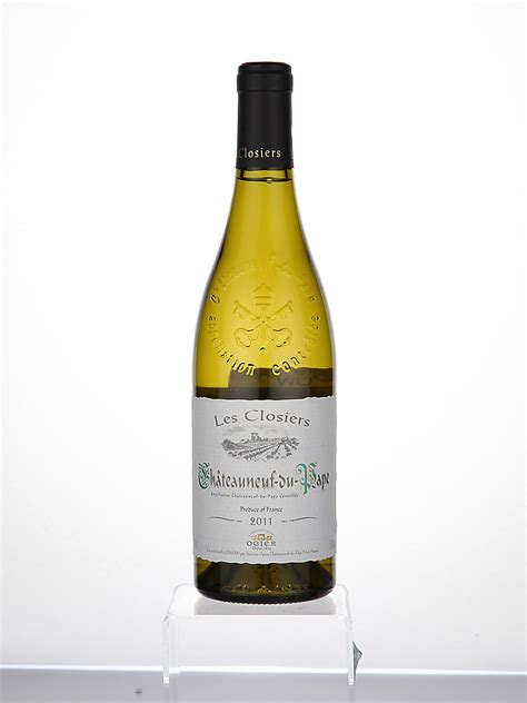 Marks and Spencer Châteauneuf-du-Pape les Closiers Blanc,2011