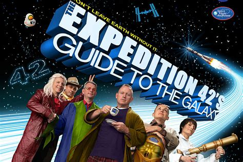 Nasa's Space Station Expedition 42 Poster Spoofs The