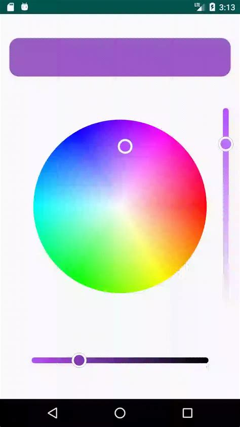 A library for Android that provides HSV Color Wheel and