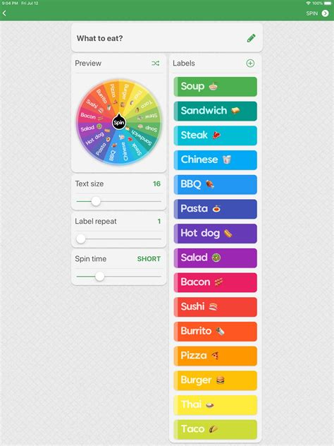 Spin The Wheel - Random Picker for Android - APK Download