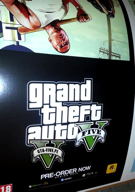 Leaked GTA V promotional poster confirms Spring 2013 as