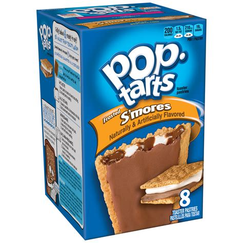 Kellogg's Pop-Tarts, Frosted S'mores Flavored, 14