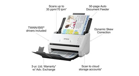 Epson DS-530 Scanner Review » Shopping Online: Electronics