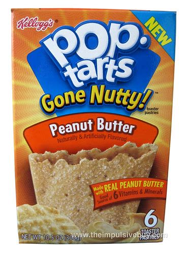 REVIEW: Pop-Tarts Gone Nutty! Peanut Butter - The