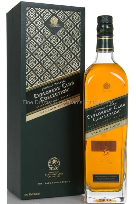 Johnnie Walker The Gold Route Whisky (1 Liter)