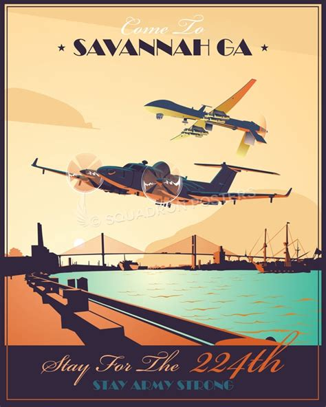 Hunter Army Airfield, 224th MI BN (AE) – Squadron Posters