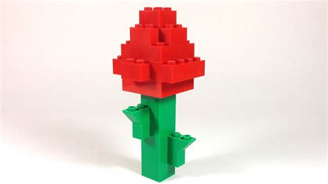 How To Build Lego FLOWER ROSE - 4628 LEGO® Fun with Bricks