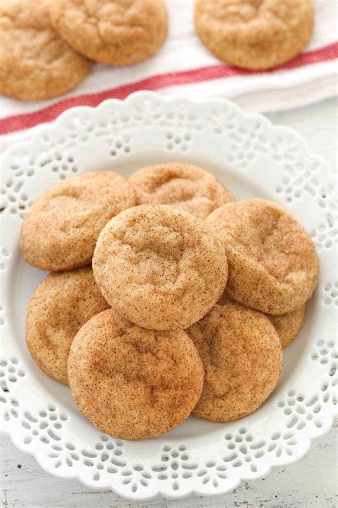 Soft and Chewy Snickerdoodles - Live Well Bake Often