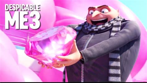 Beginning, Dance Fight, Stealing Diamond - DESPICABLE ME 3