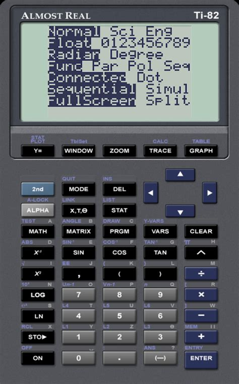 AlmostTI - TI Calc Emulator - Android Apps on Google Play