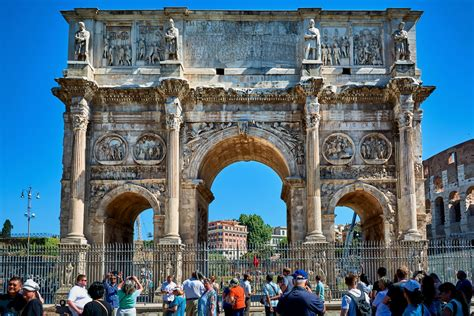 Arch of Constantine - Colosseum Rome Tickets