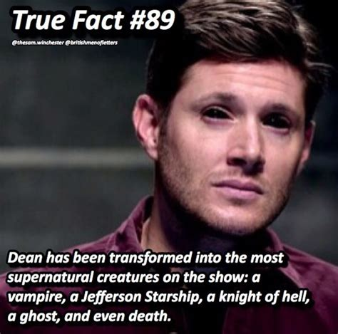 Yes we love him Dean is the best and he still a hunter