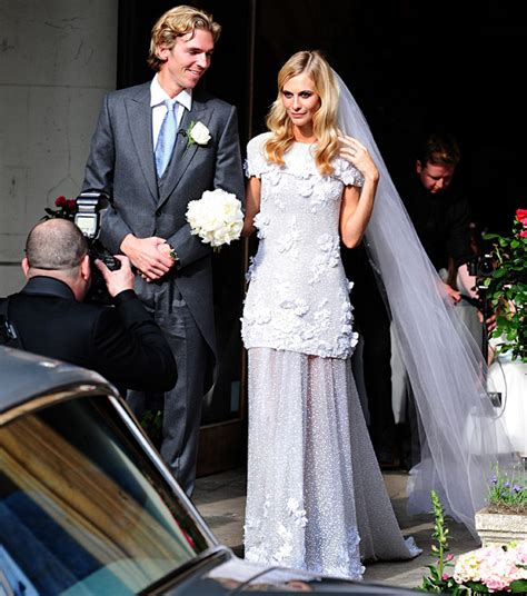 The Bride Wore Chanel Couture: See Poppy Delevingne's