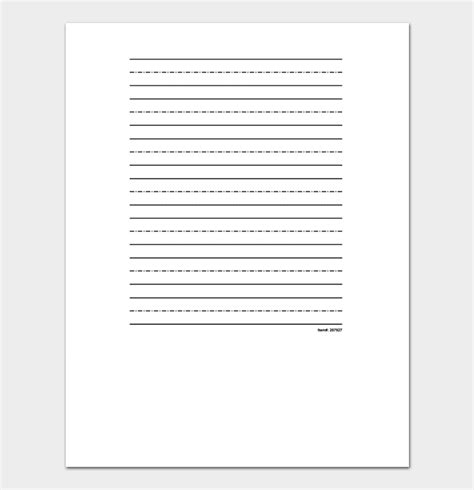 Lined Paper Template | 38+ Free Lined Papers in Word, PDF