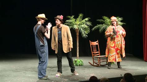"""""""A Play With Words"""" - Stage Play by Peter Bloedel - YouTube"""