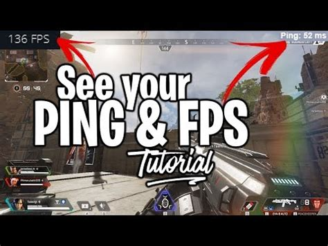 How to see FPS & PING in Apex Legends