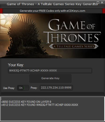 Game of Thrones – A Telltale mods, hacks, apps, games and