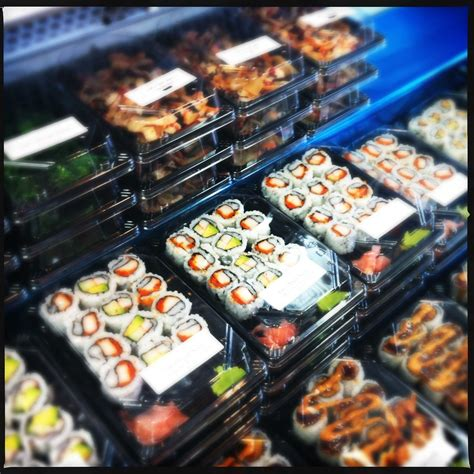 Gas Station Sushi Counter   Gas station sushi isn't the